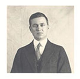 Portrait of E.V. Cowdry taken during his time at the Rockefeller Institute.