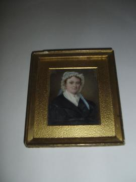 Portrait painting of Mrs. Deborah Beaumont.