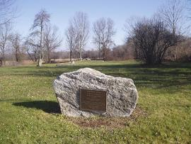 Beaumont Park plaque, Lebanon, Connecticut.