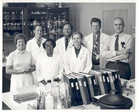 Group portrait of the Washington University School of Medicine Department of Preventive Medicine ...