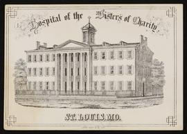 Matriculation card for S.R. McKay, Hospital of the Sisters of Charity, St. Louis, Missouri.