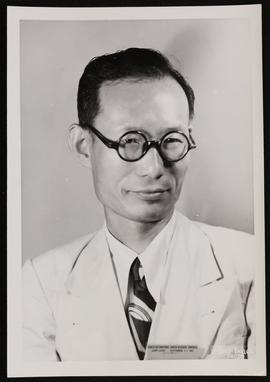 Studio portrait of I. S. Yun.