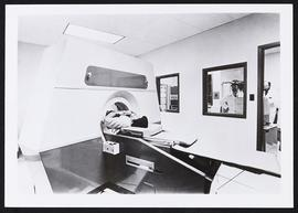 Patient in an EMI-Scanner.