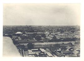 Aerial view, likely Peking Union Medical College, Beijing, China.