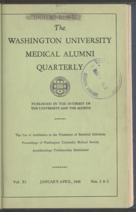 Washington University Medical Alumni Quarterly, January to April 1948