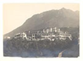 Exterior view of the residential quarters, University of Hong Kong, China.