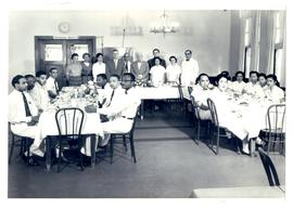 Photo of Homer G. Phillips Hospital staff, November 20-21, 1957.