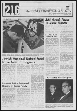 216 Jewish Hospital of St. Louis, October 1968.