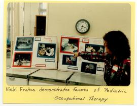 Vicki Fratus presenting on Pediatric Occupational Therapy, Washington University School of Medici...
