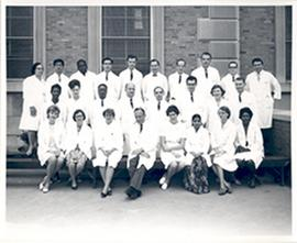 Group portrait of the Washington University School of Medicine Department of Medicine, Renal Divi...