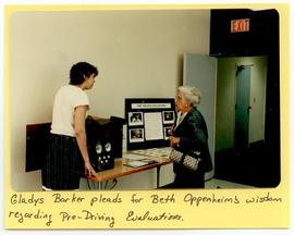 Gladys Barker and Beth Oppenheim, Washington University School of Medicine, Program in Occupation...