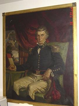 Portrait painting of William Beaumont.