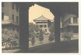 Exterior buildings, Peking Union Medical College, China.