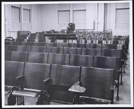 Interior view of of a lecture hall in the Anatomy Department, Washington University School of Med...