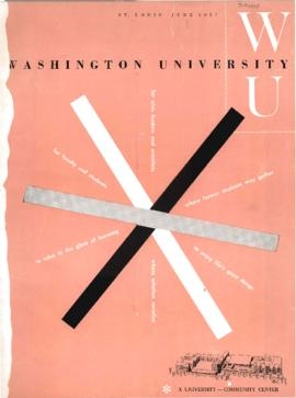 Washington University Magazine, V26, N05, June 1957.