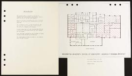 2nd Floor Plan, Washington University School of Dentistry.