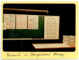 Display of Occupational Therapy research, Washington University School of Medicine, Program in Oc...