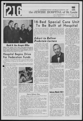 216 Jewish Hospital of St. Louis, April 1966.