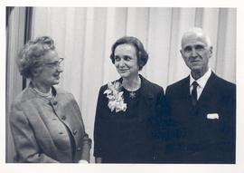 Alice Cowdry, Sarah Luse, and E.V. Cowdry.