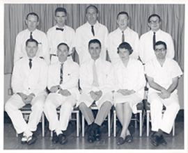Group portrait of the Washington University School of Medicine Department of Psychiatry and Neuro...