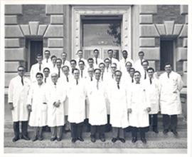 Group portrait of the Washington University School of Medicine Department of Opthalmology.