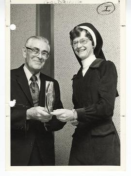 David Goldring and Sister Mary Roch Rocklage, R.S.M.