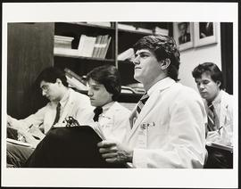Third year students in class, Washington University School of Medicine.