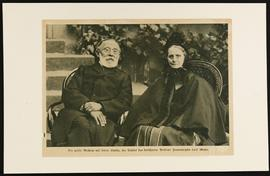 Portrait of Rudolf and Rose Virchow.