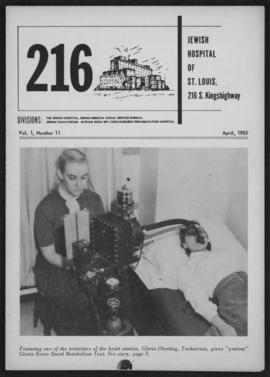 216 Jewish Hospital of St. Louis, April 1953.