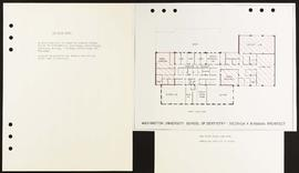 3rd Floor Plan, Washington University School of Dentistry.