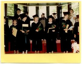 Scene from a graduation ceremony, Washington University School of Medicine, Program in Occupation...