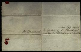 Social invitations mailed to W. Beaumont from Mrs. Lewis Cass, Mr. and Mrs. Edward Livingston, Co...