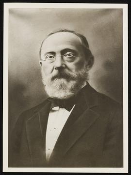 Studio portrait of Rudolf Virchow.