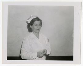 Susan S. Barnes, Chief Occupational Therapist, Wakeman General and Convalescent Hospital, Camp At...