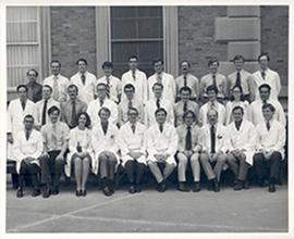 Group portrait of the Washington University School of Medicine Department of Radiology.
