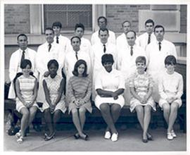 Group portrait of the Washington University School of Medicine Department of Medicine, Gastroente...