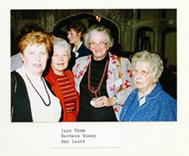 Group portrait of Jean Yemm, Berness Suway, and Amy Lears.
