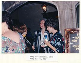 Mary Ruckdeschel and Mary Moore.