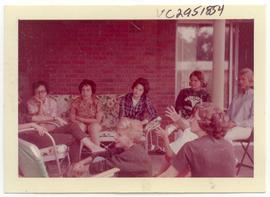 Scene from a Junior-Senior class picnic, Washington University School of Medicine, Program in Occ...