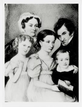 Portrait painting of the Beaumont family.