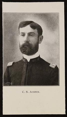 Studio portrait of Charles S. Austin.