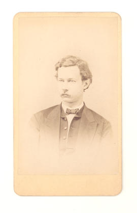 Dr. Gustav Baumgarten, aged 34 years, in 1871.