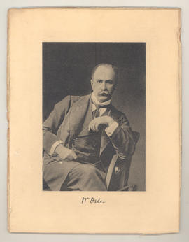 Portrait of William Osler.