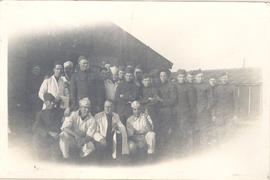 Group portrait of some members of Unit 21.