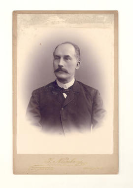 Reverend Gustav Greiffenhagen, husband of Johanna.