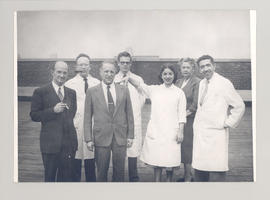 Group portrait of the Department of Bacteriology and Immunology, Washington University School of ...
