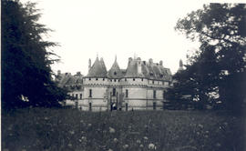 Exterior view of the Chateau Chaumont-sur-Loire.