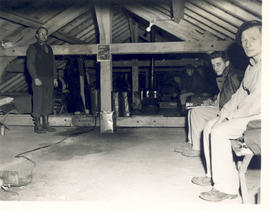 View of the Attic Ward, 21st General Hospital, Ravenel Hospital Hospital, Mirecourt, France.