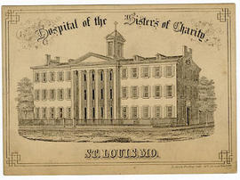 Admittance card to practice medicine at the Hostpital of the Sisters of Charity, St. Louis, Misso...
