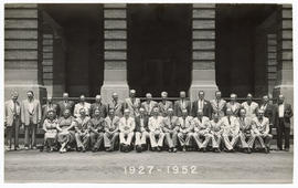 Group portrait of the class of 1927.